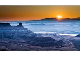 地球,日出,自然,风景,壁纸,图片