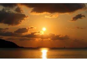 地球,日落,壁纸,(56)
