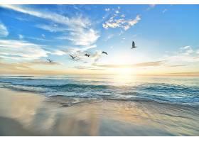地球,海洋,自然,地平线,日出,壁纸,图片