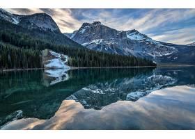 地球,反射,山,自然,森林,壁纸,图片