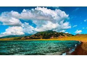 地球,海景画,艺术的,油,绘画,壁纸,