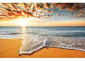 地球,海洋,地平线,天空,云,太阳,自然,日出,壁纸,图片