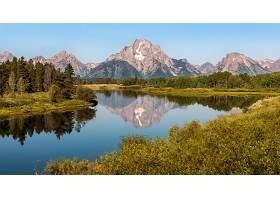 地球,河,自然,山,风景,反射,壁纸,图片