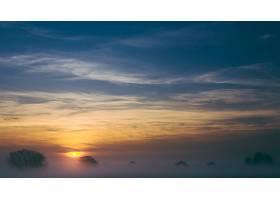 地球,雾,自然,天空,日出,壁纸,图片