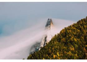 地球,雾,自然,山峰,壁纸,图片