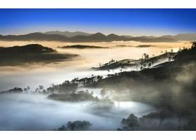 地球,雾,自然,风景,山,壁纸,图片