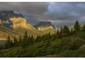 地球,山,山脉,自然,森林,壁纸,图片