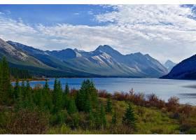 地球,山,山脉,湖,自然,风景,云,森林,壁纸,图片