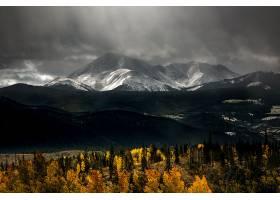 地球,山,山脉,自然,风景,云,壁纸,(1)