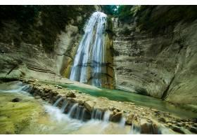 地球,瀑布,瀑布,自然,悬崖,壁纸,(8)图片