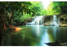 地球,瀑布,瀑布,泰国,热带的,小溪,快活的,自然,壁纸,图片