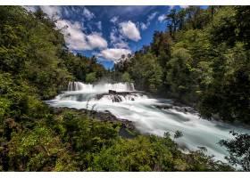 地球,瀑布,瀑布,自然,河,森林,壁纸,图片