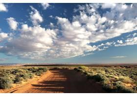 地球,沙漠,地平线,天空,云,泥土,路,风景,自然,壁纸,