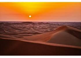地球,沙漠,太阳,日落,风景,沙丘,沙,地平线,壁纸,