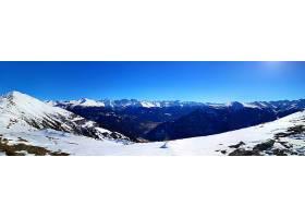 地球,山,山脉,全景画,风景,自然,雪,冬天的,壁纸,图片
