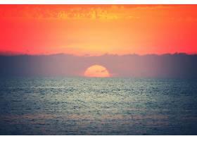 地球,日落,自然,海洋,地平线,天空,壁纸,图片