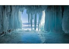 地球,冰,洞穴,冬天的,壁纸,图片