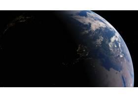 地球,从,空间,行星,壁纸,(1)图片