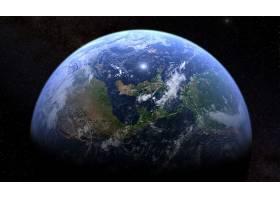 地球,从,空间,行星,壁纸,(2)图片