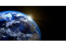 地球,从,空间,行星,壁纸,(3)图片