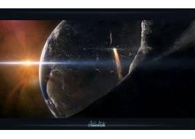 地球,从,空间,行星,壁纸,(9)图片