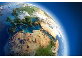 地球,从,空间,行星,空间,欧洲,壁纸,图片
