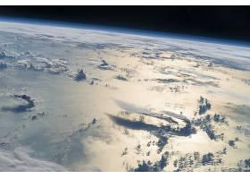 地球,从,空间,行星,行星景观,云,壁纸,图片