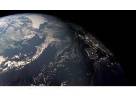 地球,从,空间,行星,行星景观,壁纸,图片