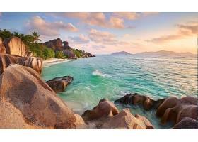 地球,海岸线,自然,海岸,海滩,热带的,塞舌尔,岩石,壁纸,
