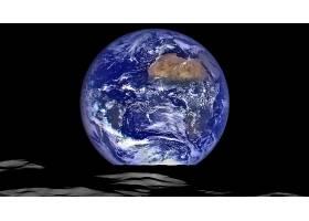 地球,从,空间,非洲,行星,壁纸,图片