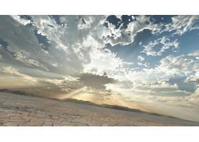 云,天空,沙漠,阳光,风景,壁纸,