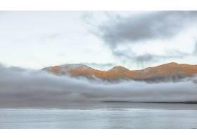 雾,自然,山,水,壁纸,图片