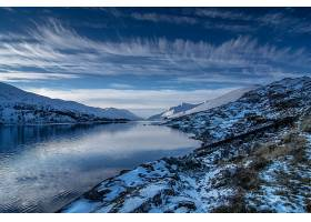 地球,湖,湖,自然,冬天的,壁纸,(1)