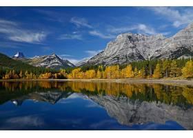 地球,湖,湖,自然,反射,山,森林,壁纸,(1)
