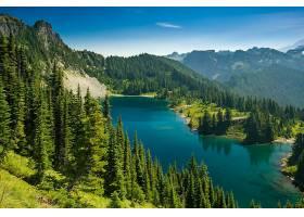 地球,湖,湖,自然,山,森林,壁纸,(1)图片
