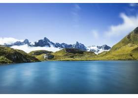 地球,湖,湖,自然,山,风景,壁纸,图片