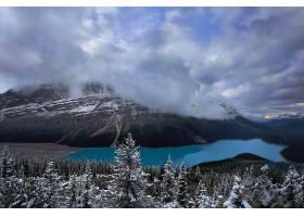 地球,湖,湖,自然,森林,云,山,壁纸,图片