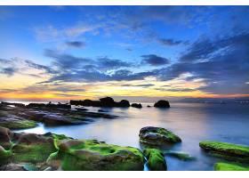 地球,海洋,自然,岩石,地平线,天空,云,壁纸,(3)图片