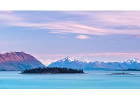 地球,湖,Tekapo,湖,风景,岛,山,壁纸,图片