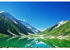 地球,反射,自然,湖,风景,山,雪,壁纸,图片