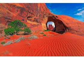 地球,拱门,自然,沙,沙漠,岩石,壁纸,