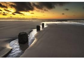 地球,海洋,自然,沙,地平线,天空,日出,壁纸,