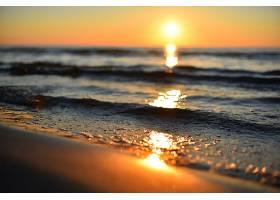 地球,海洋,地平线,自然,日出,特写镜头,壁纸,图片