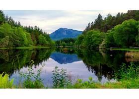 地球,湖,湖,山,反射,壁纸,(1)