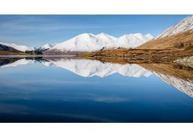 地球,湖,湖,山,反射,自然,壁纸,(1)