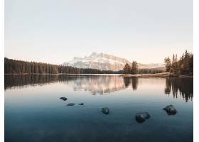 地球,湖,湖,山,自然,反射,风景,壁纸,