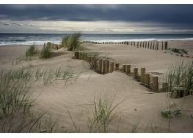 地球,海滩,沙,地平线,自然,海洋,壁纸,