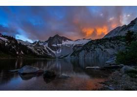 地球,湖,湖,山,风景,自然,岩石,壁纸,