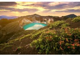 地球,湖,湖,弹簧,绿松石,山,风景,壁纸,