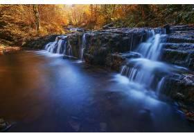 瀑布,瀑布,自然,岩石,溪流,壁纸,(4)图片